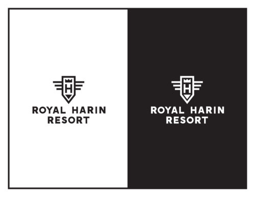 Logo Concept: Royal Harin Resort