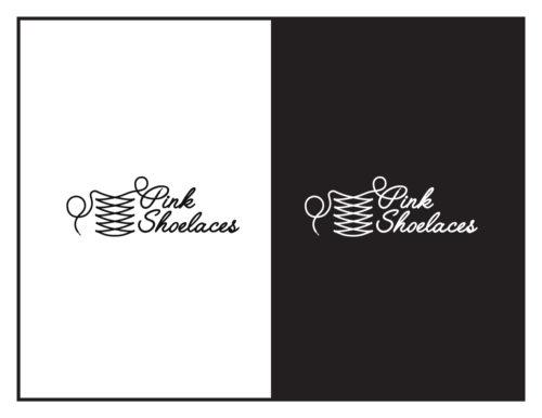 Logo Concept: Pink Shoelaces (Girls' Boutique)