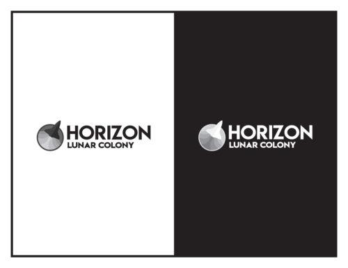 Logo Concept: Horizon Lunar Colony